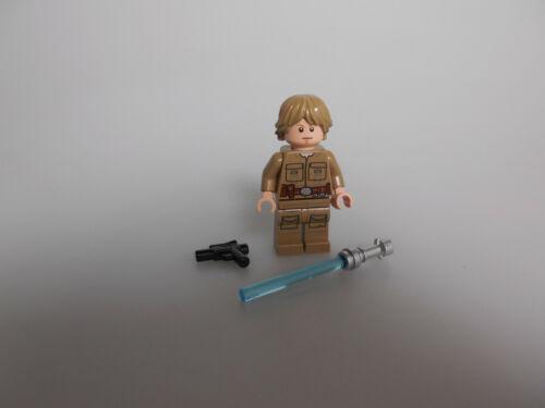 Lego® Star Wars Minifigur Luke Skywalker mit Lichtschwert und Blaster Neu