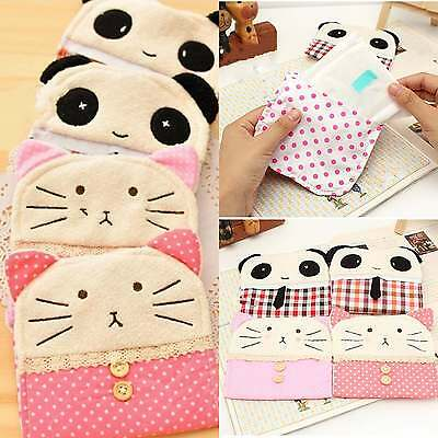 1pcs Cute Sanitary Napkin Bag Pouch Purse Pad Holder Organizer Women Girl Bags
