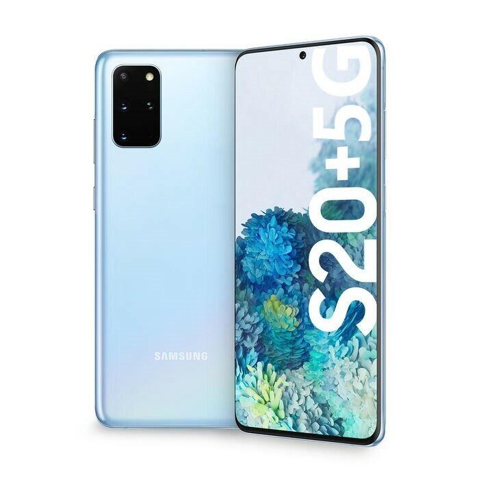 Samsung Galaxy: Samsung Galaxy S20+ PLUS 5G SM-G986 12+128GB Dual Sim CLOUD BLUE Smartphone