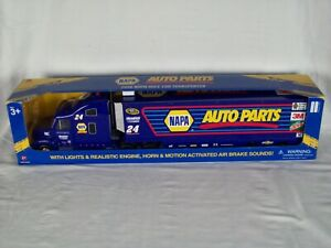 2016 Napa Race Car Transporter #24 Chase Elliot / Has Battery Operated Sounds