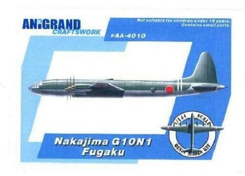 Anigrand Craftworks AA-4010 - 1 144 Nakajima G10N1 Fugaku - Neu