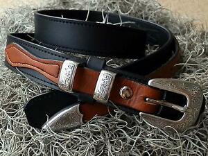 Black Custom Ranger Belt