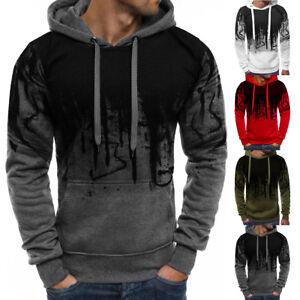 Men-Winter-Slim-Casual-Hoodie-Warm-Hooded-Sweatshirt-Coat-Jacket-Outwear-Sweater