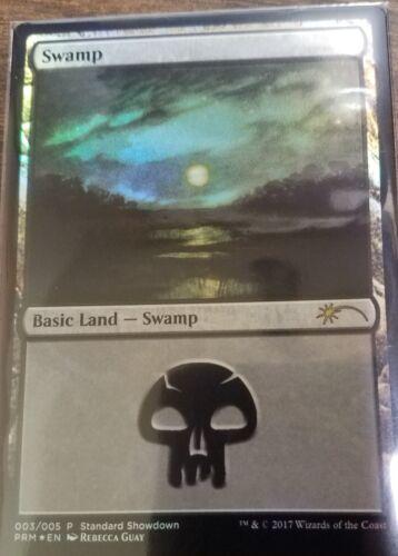 Ixalan Buy A Box Swamp Promo Rebecca Guay NM Magic MTG Foil Land