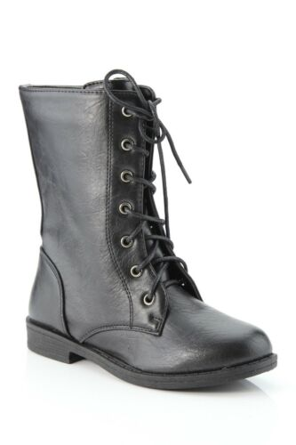 Anna Cary Black Combat Boot (Size 8) Sold Out At N