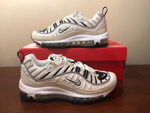 Women s Nike Air Max 98 Sail igloo-fossil AH6799-105 size 6 US  bbca56e98