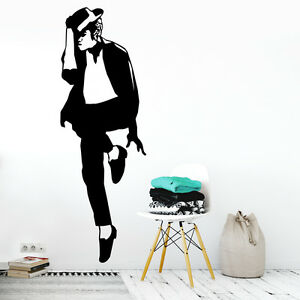 Image Is Loading Michael Jackson Wall Art Decal Vinyl Sticker Decor