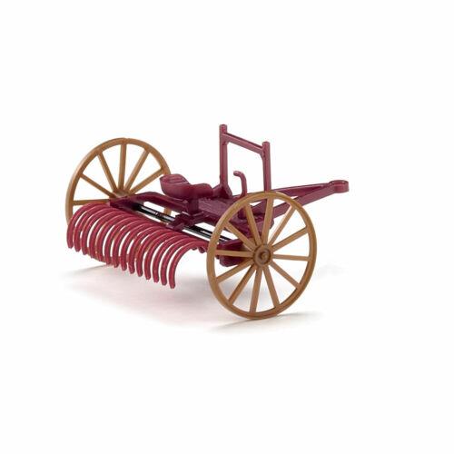 weinrot #088904 WIKING Modell 1:87//H0 Landwirtschaft Schlepprechen