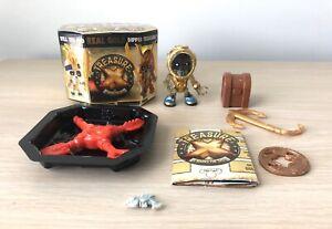 Treasure-X-X-Marks-The-Spot-RARE-Gold-Diver-Figure-amp-Accessories-See-Descrip