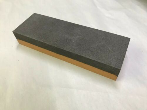 """New Made In USA Combination India Bench Stone 1/"""" x 2/"""" x 6/"""" Fine and Coarse"""
