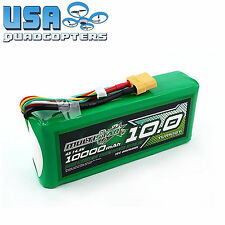 MultiStar High Capacity 10000mAh 4s 14.8v LiPo Battery Pack Long-Life XT90 New