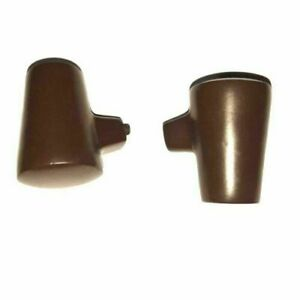 VESPA-22-mm-BROWN-ALLOY-STAND-FEET-SHOE-PAIR-PX-PE-PK-T5-T5-CLASSIC-AND-COSA