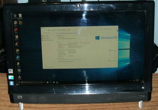 HP Touchsmart 9100 23