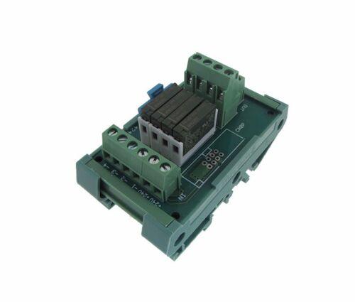 PNP Panasonic Relay 4 Channel 4CH 12VDC Relay Board PLC DIN Rail Mounting
