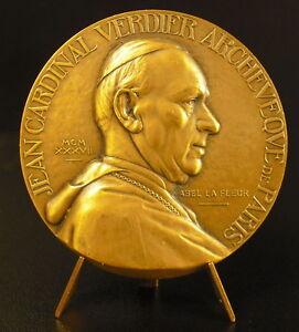 Medaille-Jean-Verdier-Basilique-Saint-Jean-de-Latran-Notre-Dame-de-Paris-medal