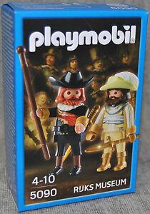 Playmobil-5090-The-Night-Watch-Nachtwache-Rembrandt-Rijks-Museum-Neu
