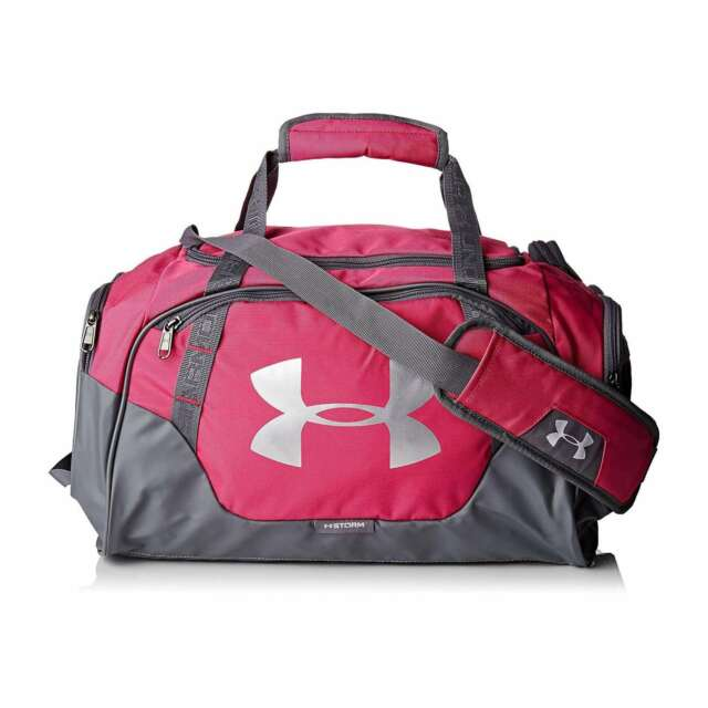 Under Armour Undeniable 3.0 Small Duffle Gym Duffel Bag - Pink for ... 7a402a54c6fda