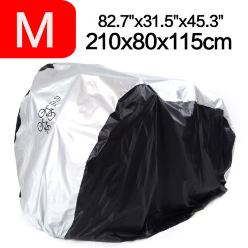 For 2 Bikes Garage Dust Bicycle Cover Outdoor Waterproof UV BMX Bike Protector