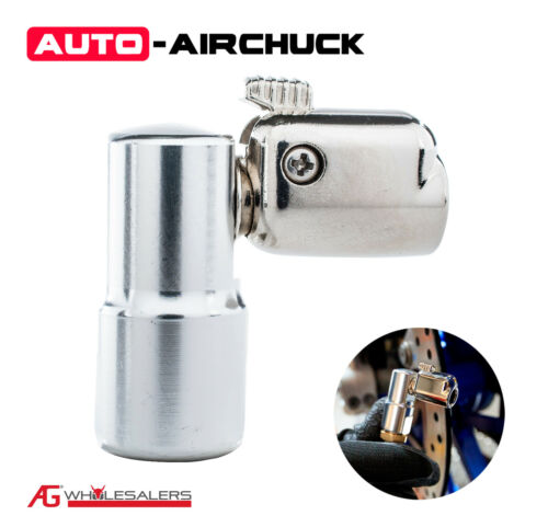 90° Angle 160Psi Auto Airchuck Tyre Chuck Tire Air Replacement or Upgrade