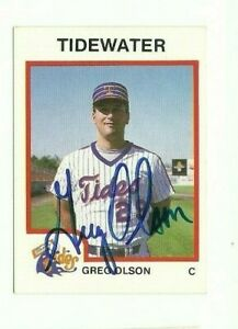 Greg-Olson-1987-ProCards-Tidewater-Tides-autographed-auto-signed-card