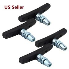2 Pair Mountain Bike  Cycling V Brake Holder Pads   Rubber Durable  Performance