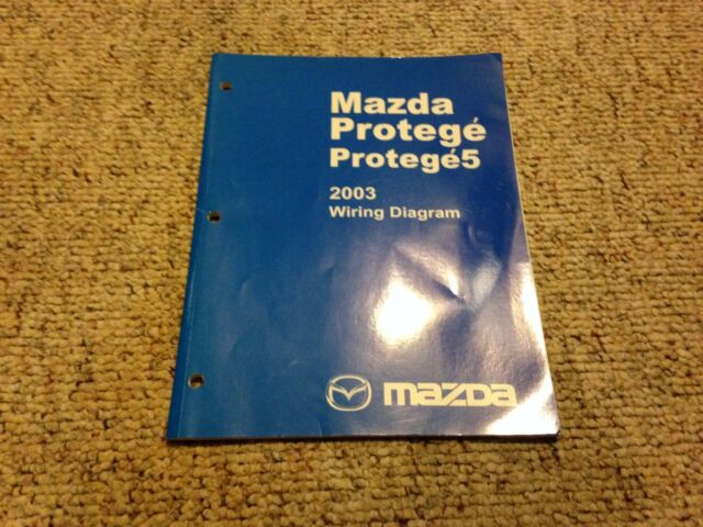 2003 Mazda Protege 5 Protege5 Electrical Wiring Diagram
