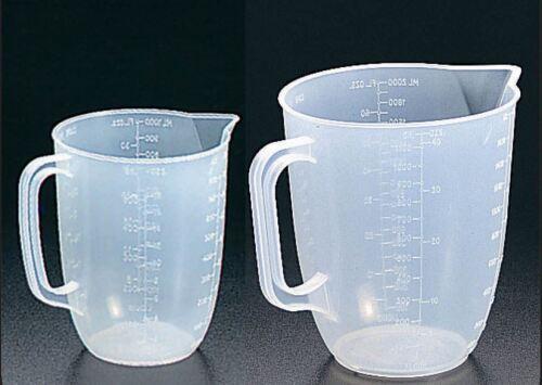 2 x METALTEX Plastique Cuisine cruches de mesure 1 litre et pack de 2 litres