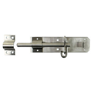 6034 PADBOLT Galvanised Gate Shed Door Lock Bolt Slide Latch Catch Security - <span itemprop=availableAtOrFrom>Halifax, United Kingdom</span> - We accept returns only by post to our Halifax Head Office address within 30 days from the date of receipt provided that the goods are in new and unused condition and the original labels a - Halifax, United Kingdom