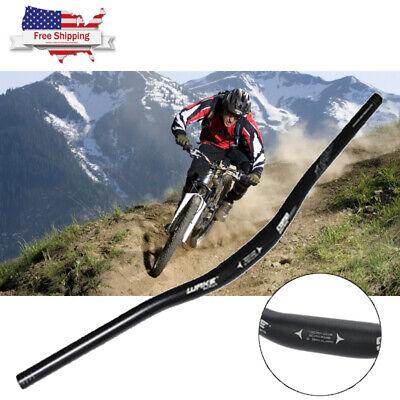 2Pcs Aluminium Alloy Mountain Bike Handlebar Bicycle Riser Bar MTB Handlebar
