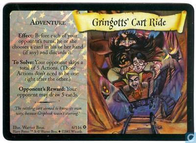 Harry Potter tcg Gringott/'s Cart Ride 6//116 BS