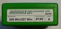 80155 Redding 308 Winchester/307 Winchester Die Set - Brand - Free Shipping