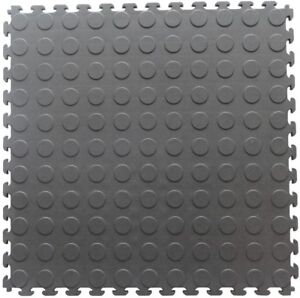 Garage Flooring Tile With Raised Coin