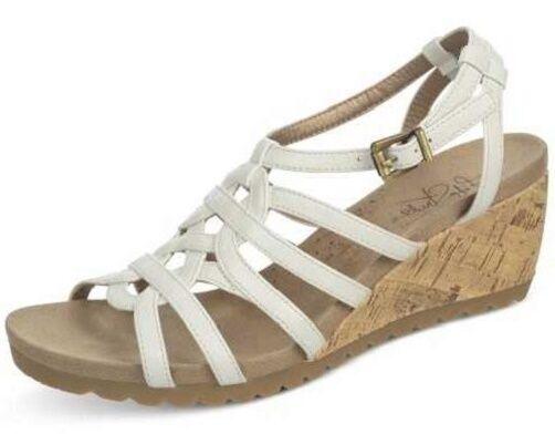 Life Stride Neva platform wedge sandals sandals sandals blancoo sz 10 Med NEW  muchas sorpresas