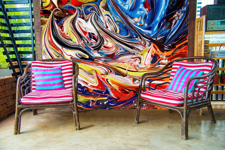 3D Farbe Painting 835 Wallpaper Mural Paper Wall Print Wallpaper Murals UK