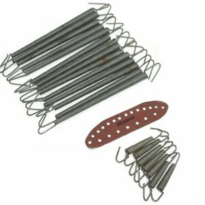 New-Lycett-Type-Front-Saddle-Under-Seat-Replacement-Plate-21-Springs-UK