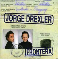 Jorge Drexler - Frontera [new Cd] on Sale