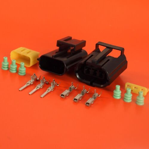 Genuine AMP Product 3 Way Male /& Female Econoseal Electrical Multi Connector