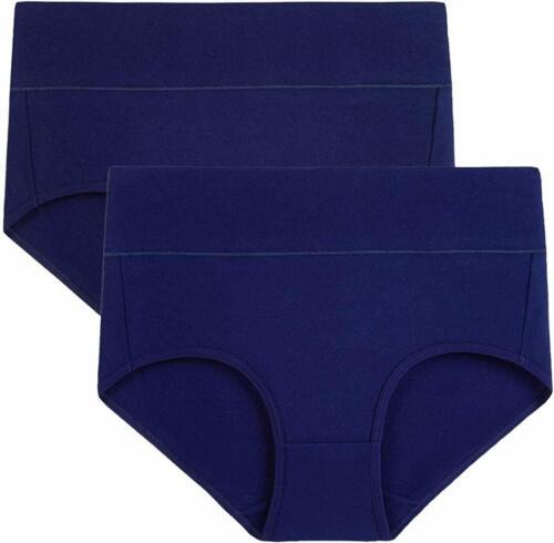 wirarpa Women/'s Soft Cotton Briefs Underwear Breathable High Waist Full Coverage