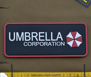 PVC-Rubber-Patch-034-Umbrella-Corporatione-034-with-VELCRO-brand-hook