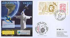 """VA220L-T1 FDC KOUROU """"ARIANE 5 Rocket - Flight 220 / INTELSAT-30 & ARSAT-1"""" 2014"""