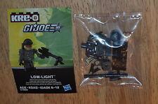 2013 Hasbro KRE-O G.I.JOE A7868 Collection 3 LOW-LIGHT  Kreon Figure OOP Sniper