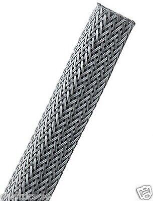 "1 meter Techflex PTN0.13PG 1//8/"" Flexo PET sleeving Platinum Gray"