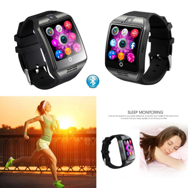 Bluetooth Smart Watch Wristwatch with Camera for Samsung S9 S8 S6 S5 LG G4 G5 G6