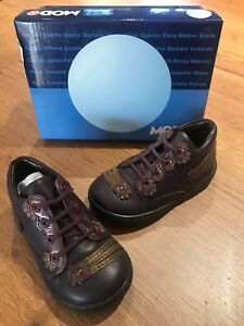 14f27a44773a23 Mod8 T 21 Fille : Chaussures De Marche Bottillons Cuir Marron ...
