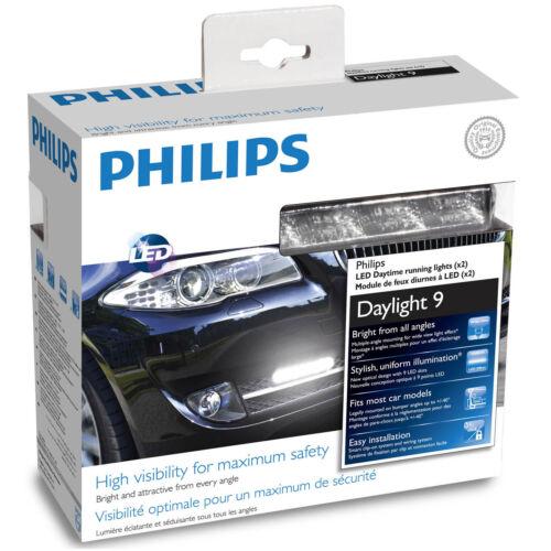 Philips Daylight 9 DRL Daytime Running Light System 12831WLEDx1