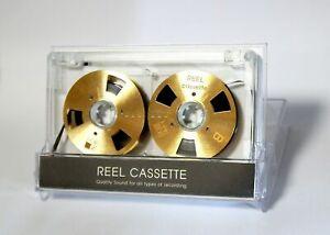 Carrete-a-carrete-de-cinta-de-Cassette-Auto-hecha-de-alta-calidad-de-diseno-color-oro