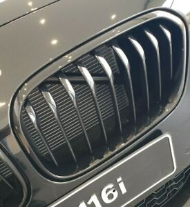 Original BMW M Performance F20 3 4/12ft1 Grids Black 5172357462 Right New