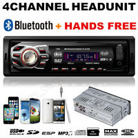 In Dash Bluetooth Car Audio Stereo Head Unit MP3 Player Handsfree USB/SD/AUX/FM