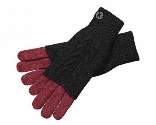 Kunert Handschuhe Damen Strickhandschuhe zweifärbig Zwiebelschale