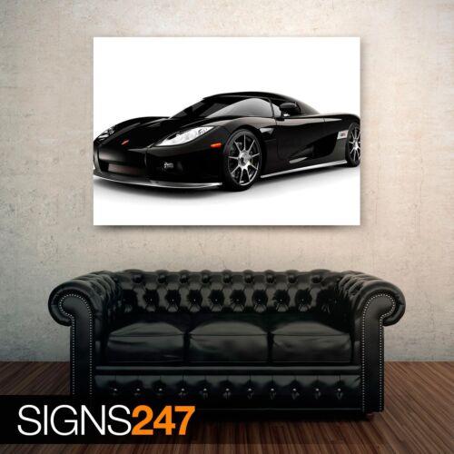 Picture Poster Print Art A0 A1 A2 A3 A4 0490 KOENIGSEGG CCX Car Poster